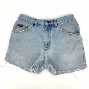Vintage 90s LEE Womens High Waisted Cut Off Shorts